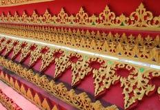 Thaise boeddhistische achtergrond Stock Afbeeldingen