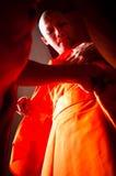 Thaise Boeddhistische ordeningsceremonie Royalty-vrije Stock Afbeeldingen