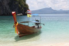 Thaise boot royalty-vrije stock foto