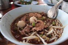 Thaise bootnoedels stock afbeeldingen