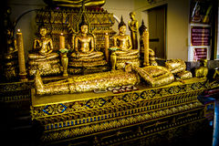 Thaise Buddhas 2 Royalty-vrije Stock Afbeeldingen
