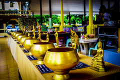 Thaise Buddhas 6 Stock Afbeeldingen