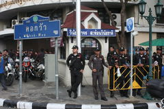 Thaise cop Royalty-vrije Stock Foto's