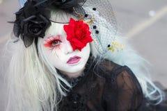 Thaise cosplayers kleden zich als karakters van beeldverhaal en spel in festa van Japan in Bangkok Royalty-vrije Stock Fotografie