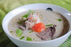 Thaise Cuisine- Tom Kha Ka royalty-vrije stock fotografie