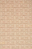 Thaise de bakstenen muurtextuur van de stijlkunst Royalty-vrije Stock Afbeelding