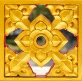 Het mooie boeddhisme van de kunst Thaise stijl Royalty-vrije Stock Fotografie