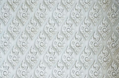 Thaise decoratieve patroon, achtergrond en textuur Stock Fotografie
