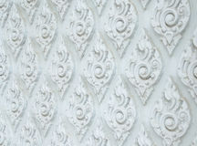 Thaise decoratieve patroon, achtergrond en textuur Stock Afbeeldingen