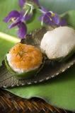 Thaise dessert oude stijl Royalty-vrije Stock Foto's