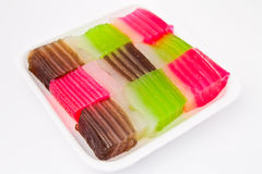 Thaise desserts Royalty-vrije Stock Afbeeldingen