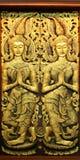 Thaise deur in traditionele stijl Royalty-vrije Stock Foto