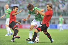 Thaise Eerste Liga 2011 Stock Foto's