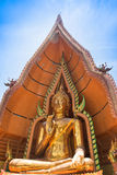 Thaise en Chinese tempels de van Wat Tham Seua, Stock Afbeelding