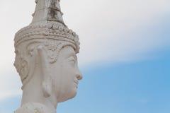 Thaise engel standbeeld-3 Stock Fotografie