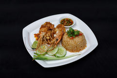 Thaise gebraden rijst Stock Fotografie