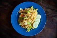 Thaise gebraden rijst met groenten Royalty-vrije Stock Foto