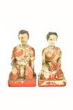 Thaise geest die pop aanbieden Royalty-vrije Stock Afbeelding