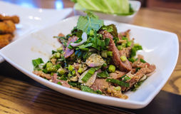 Thaise Gemengde Salade royalty-vrije stock afbeeldingen