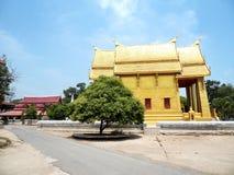 Thaise gouden tempel Stock Afbeelding