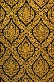 Thaise Gouden Verf Royalty-vrije Stock Afbeeldingen