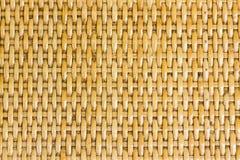 Thaise handcraft van het patroon van het bamboeweefsel Stock Foto's
