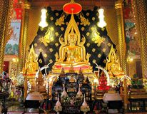Thaise Heilige Boedha Stock Afbeeldingen