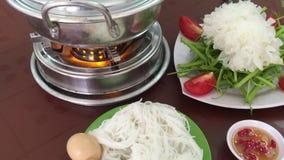 Thaise hete pot stock footage