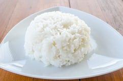 Thaise jasmijn gekookte rijst Royalty-vrije Stock Foto