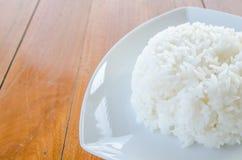 Thaise jasmijn gekookte rijst Stock Afbeelding