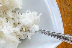 Thaise jasmijn gekookte rijst Royalty-vrije Stock Afbeelding