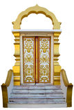 Thaise kerkdeur Stock Fotografie