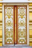 Thaise kerkdeur Royalty-vrije Stock Afbeelding
