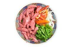 Thaise Keuken en Voedsel, Zuur die varkensvlees met Varkensvlees wordt gemaakt Stock Afbeeldingen