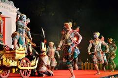 Thaise Khon Royalty-vrije Stock Afbeeldingen