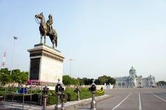 Thaise Koning Rama V Monument Stock Fotografie