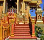 Thaise koninklijke begrafenis in Bangkok Thailand Royalty-vrije Stock Foto's