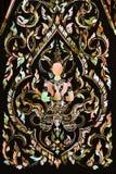 Thaise kunst die van parel wordt gemaakt Stock Foto's