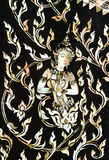 Thaise kunst die van parel wordt gemaakt Stock Afbeelding