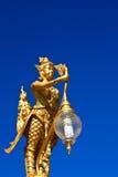 Thaise kunst en Kinnaree. Stock Afbeelding
