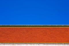 Thaise kunst op het dak. Stock Foto's