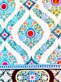 Thaise Kunst van muur Royalty-vrije Stock Fotografie