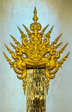 Thaise kunst in Wat Rong Khun in Chiangrai, Thailand royalty-vrije stock foto