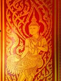Thaise Kunstliteratuur Stock Afbeeldingen
