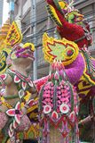 Thaise Kunstmatige verse bloemen Stock Afbeelding