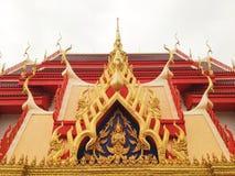 Thaise kunsttempel Royalty-vrije Stock Fotografie