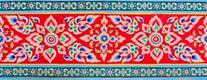 Thaise kunsttextuur Stock Afbeeldingen