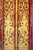 Thaise kunsttextuur Royalty-vrije Stock Afbeeldingen