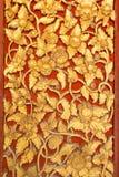 Thaise kunsttextuur Royalty-vrije Stock Foto's