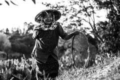 Thaise landbouwerslevensstijl Royalty-vrije Stock Afbeelding
